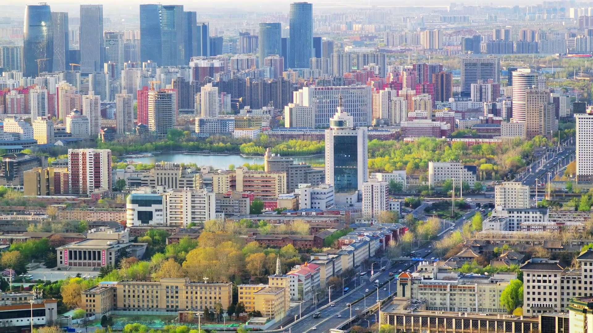 清明节中的北京城(延时摄影记录),花粉随手拍-花粉俱乐部